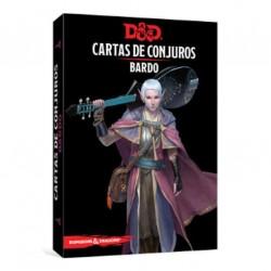 D&D Cartas de conjuros. Bardo