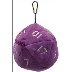 UP - D20 Plush Dice Bag -...